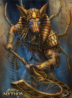 Anubis by PTimm on @DeviantArt