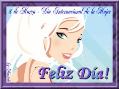 Imágenes Cristianas: Día de la Mujer Disney Characters, Fictional Characters, Aurora Sleeping Beauty, Disney Princess, Happy Woman Day, Happy Fathers Day, Christian Pictures, Christians, Happy International Women's Day