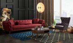 Chester Koltuk Takımları %30'a varan indirimli Fiyatlarla - Tarz Mobilya Grey Sofa Set, Istanbul, Lounge, Couch, Furniture, Home Decor, Men's Clothing, Style, Chair