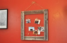 Learn How to Make a Hanging Display Frame