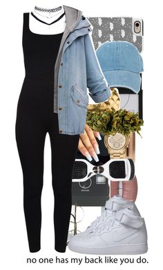 """What's your favorite color?"" by queenwhit ❤ liked on Polyvore featuring Donkey Products, ZeroUV, S'well, Michael Kors, Wet Seal, Casetify, NIKE, Topshop, Chanel and Amaya"