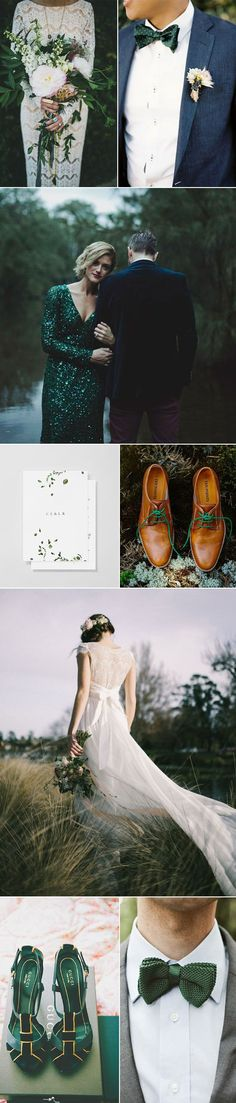 Ideas and Inspiration for Planning A Gorgeous Forest Green Wedding