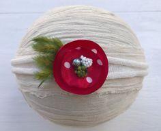 Christmas tieback  Tieback headband  by DESERTROSECOUTURE on Etsy