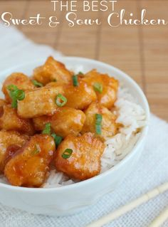 This really is the best sweet and sour chicken recipe! It seriously tastes like something you would buy at a restaurant. Everyone in my family loves it!