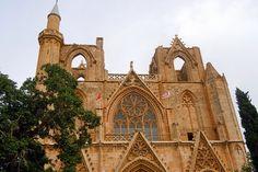 50 Amazing mosques of the world,  Lala Mustafa Pasha Mosque, Famagusta, Cyprus.