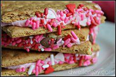simple valentines snack
