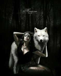 I'm trying to figure out why women and wolves just go together.