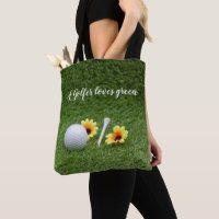Golf bags of love totes bags - Thaninee Media Golf Party Favors, Golf Party Decorations, Golf Gifts For Men, Pink Gloves, Love Shape, Valentine Box, Golf Ball, Yellow Flowers, Tote Bag
