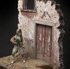 Dioramas and Vignettes: U.S. GI, Afghanistan