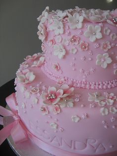 Cake Wrecks - Home - Sunday Sweets: Tickled Pink Gorgeous Cakes, Pretty Cakes, Cute Cakes, Amazing Cakes, Cake Wrecks, Super Torte, Wedding Cakes With Flowers, Fancy Cakes, Pink Cakes