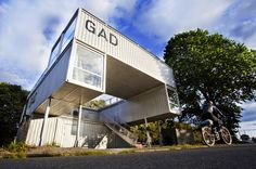 GAD is a Mobile Shipping Container Gallery For Traveling Art Exhibitions