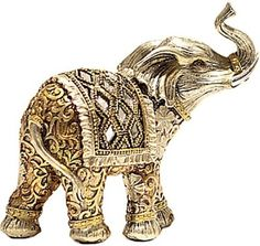 X-Gift Aramani Golden color elephant Showpiece - 13 cm Price in India - Buy X-Gift Aramani Golden color elephant Showpiece - 13 cm online at Flipkart.com