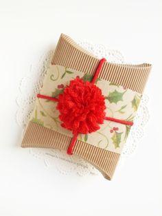 Ghirlanda di Popcorn: handmade bow