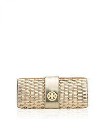 Woven Metallic Patent Clutch- To Die !