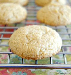Incredible 3-Ingredient cookies that taste rich and buttery, despite being free of grains, gluten, oil, eggs, and dairy. They are made with blanched almond flour & can be varied in countless ways.