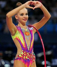 Arina Averina 2017 Gymnastics Costumes, Gymnastics Photos, Rhythmic Gymnastics Leotards, Dina Averina, Challenge Cup, European Championships, Ballroom Dress, Beautiful Lines, Olympic Games
