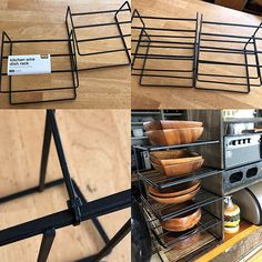 美しい食器収納を叶えてくれる☆使いたい100均グッズ特集 Dish Racks, Craft Fairs, Life Hacks, Diy And Crafts, Storage, Interior, Kitchen, Furniture, Remodeling