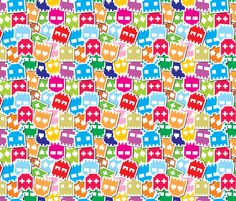 video game fabric by id_designs on Spoonflower - custom fabric