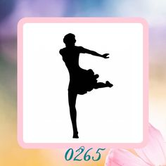 A personal favorite from my Etsy shop https://www.etsy.com/listing/207917841/ballerina-reusable-craft-stencil