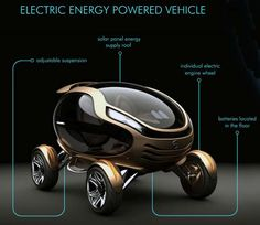 Citroen EGGO - The Citroen EGGO is a conceptual car designed by Damnjan Mitic that unfortunately looks nothing like an Eggo waffle. What the Citroen EGGO does res. Citroen Concept, Concept Cars, Kia Soul, Psa Peugeot Citroen, Microcar, Futuristic Cars, Futuristic Design, Future Car, Future Tech