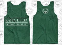 Kappa Delta Sorority Tank. But for San Jose State University!