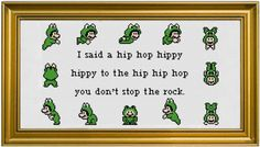 PDF Pattern - Hip Hop Hippy (Frog Suit Mario) by StitchadeeDesigns on Etsy https://www.etsy.com/ca/listing/157601471/pdf-pattern-hip-hop-hippy-frog-suit