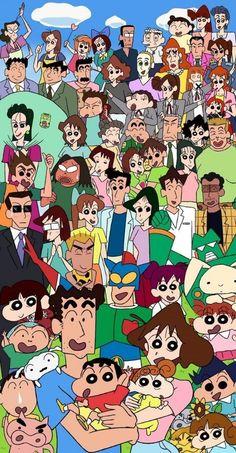 Crayon Shin-chan iPhone Wallpaper, Informations About Sinchan Wallpaper, Wallpaper Iphone Cute, Disney Wallpaper, Sinchan Cartoon, Doraemon Cartoon, Crayon Shin Chan, Doraemon Wallpapers, Cute Cartoon Wallpapers, Cute Characters