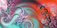 Reina Cottier - Art (Page of Fractal Art, Fractals, Framed Prints, Canvas Prints, Art Prints, Maori Art, Page 3, Art Pages, Greeting Cards