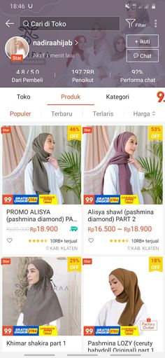 Best Online Clothing Stores, Online Shopping Sites, Online Shopping Clothes, Online Shop Baju, Diy Room Decor For Teens, Hijab Style Tutorial, Casual Hijab Outfit, Hijab Fashion Inspiration, Clothing Hacks