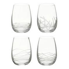 Set broušených sklenic Doozy O-Riedel