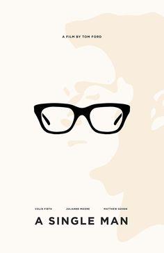 A Single Man (2009) ~ Minimal Movie Poster by Chun-Yao Peng #amusementphile