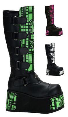 Cyberpunk Boots Men's Platform Punk Boot