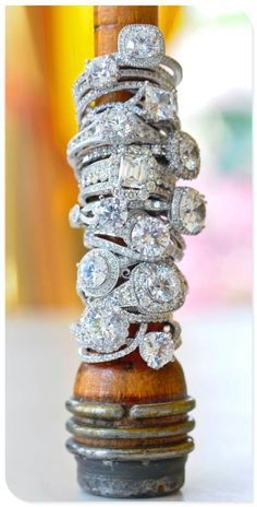 Shop our custom engagement rings, wedding rings & bands and other diamond jewelry at Fascinating Diamonds. Design your unique diamond rings by visiting our office located in New York City. Wedding Engagement, Wedding Rings, Engagement Rings, Wedding Band, Perfect Wedding, Dream Wedding, Bijoux Art Deco, Elle Magazine, Vintage Rings