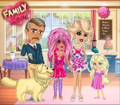 Family love theme on #moviestarplanet #MSP www.moviestarplanet.com