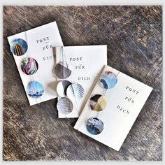 Postkarten aus Altpapier