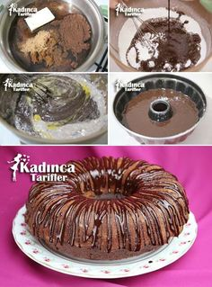 Coffee Cake Recipe, How To … – Womanly Recipes – About Healthy Desserts Tiramisu, Mousse, Turkish Kitchen, Coffee Cake, Healthy Desserts, Yummy Cakes, Doughnut, Chocolate Cake, Cupcake Cakes