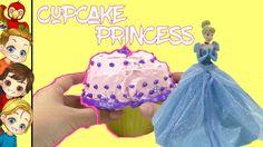 DIY Cupcake Cinderella | Princess Cupcake Surprise Dolls | Princess Cupc...