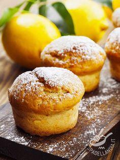 Muffins al limone - Dessert / Dolcetti e crêpes #muffin #muffinallimone #muffinagliagrumi