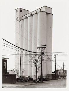 Bernd and Hilla Becher, Grain Elevator-Sycamore, Ohio, USA