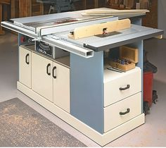 Plan: Table Saw Workcenter – WoodWork tips and else