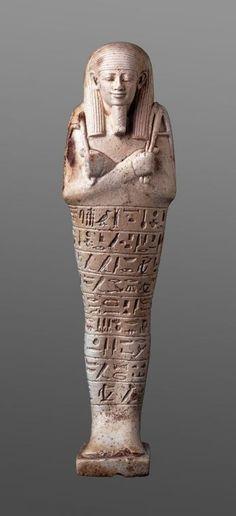 Shabti of Neferibre-saneith, 6th century B.C.