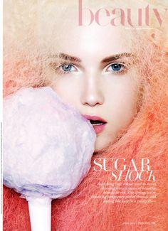 """#houseofmagazines   Fashion Magazine """"Sugar Shock"""" Article"""