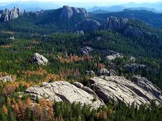 Photo: the Black Hills, a low mountain range, is located in southwestern South Dakota. Credit: blucolt; Wikimedia Commons. Mount Rushmore National Park, Hawaii Travel, National Forest, South Dakota, Vacation Trips, Vacation Destinations, Natural Wonders, Wonders Of The World, Places To See