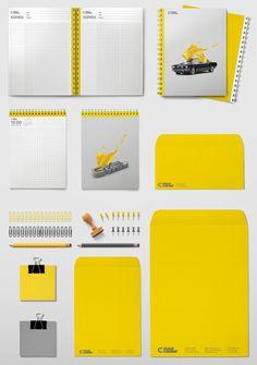 / Elite Colour / by BrandMór , via Behance Corporate Identity, Brand Identity, Branding, Painting Services, Behance, Colour, Logos, Design, Creativity