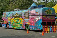 All sizes | CRAYOLA CRAYON BUS | Flickr - Photo Sharing!