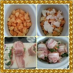 Melt in your mouth stuffed chicken thighs