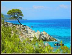 Kavourotrypes / Sithonia / Best Holiday Destinations, Macedonia, Ancient Greek, Beautiful World, Greece, Mountains, Water, Travel, Outdoor