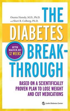 The Diabetes Breakthrough by Osama Hamdy, Sheri R. Colberg