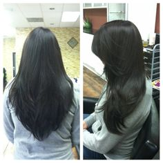 veronica miller yelp This is a perfect long V shaped long layered texted hair cut. See how the hair flows. Did this 1/16/14