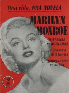 Una vida, una novela Marilyn Monroe